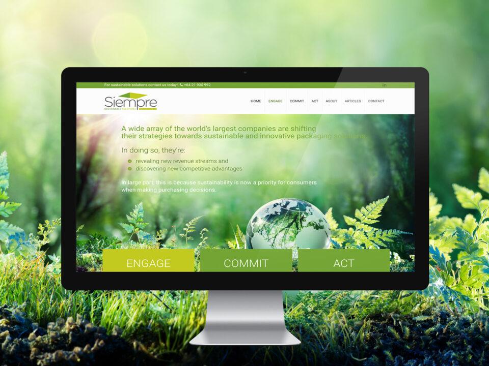 logo design web design brand development - siempre